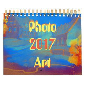 Art and photograph calendar