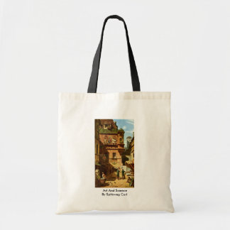 Art And Science By Spitzweg Carl Tote Bags