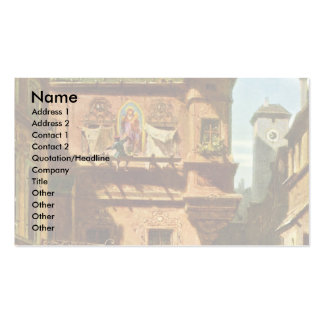 Art And Science By Spitzweg Carl Business Card Templates