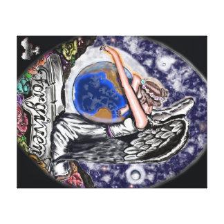 Art & Angel's Forgiven Canvas Print