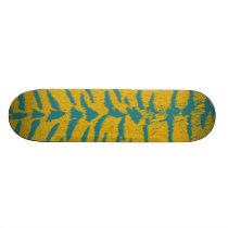Art animal fur 8 skateboard deck