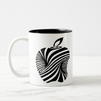 Art-appleilusionoptica-65 Two-Tone Coffee Mug