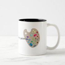 Art Artist Palette Paints Create Mug
