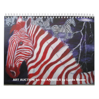 ART AUCTION for the ANIMALS calendar by Lyn