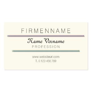 art author business card