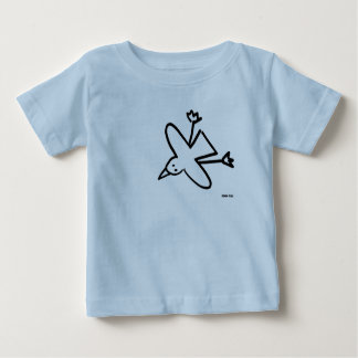 Art Baby: John Dyer Seagull Drawing Baby T-Shirt