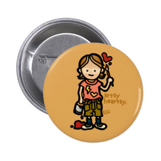 art badge button