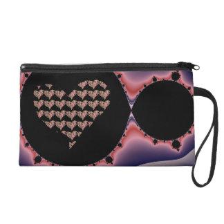art bag wristlet purse