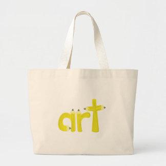 Art Jumbo Tote Bag