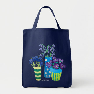 Art Bag: Lots of Pots of Flowers Gardeners' Bag