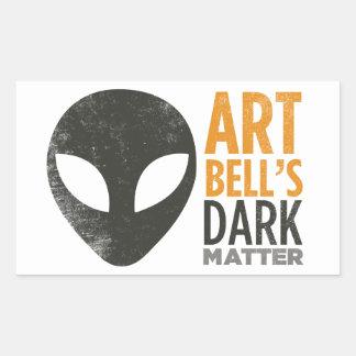 Art Bell's Dark Matter (Alien Head) Stickers