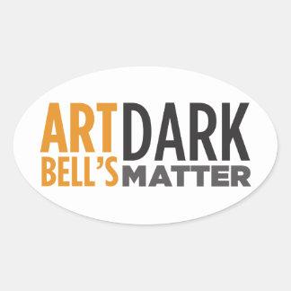Art Bell's Dark Matter Stickers