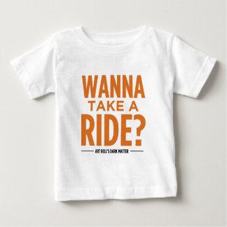 Art Bell's Dark Matter (Wanna Take A Ride?) Baby T-Shirt