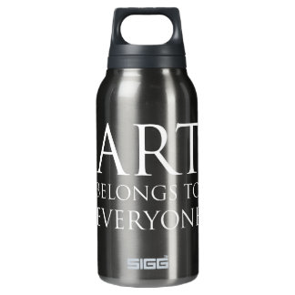 Art Belongs To Everyone Insulated Water Bottle