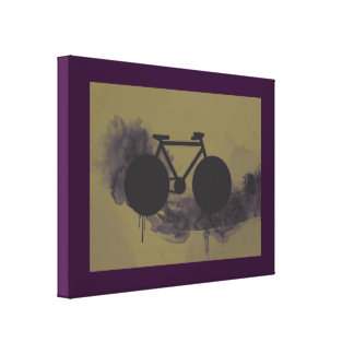 art bicycle urban style decor stretched canvas prints