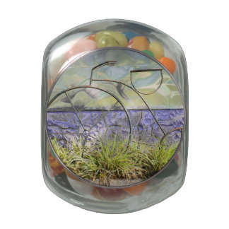 Art Bike Glass Candy Jars