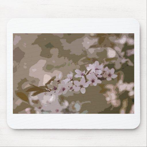 art blossom mouse pad