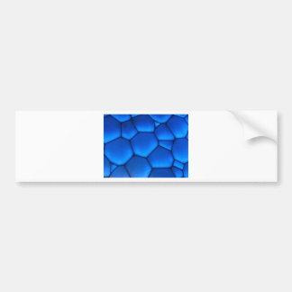 art Blue Dark Stone Bumper Sticker