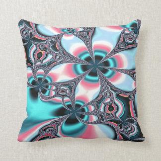 Art Blue Design Throw Pillow