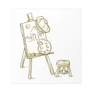 Art Board Illustration Notepad