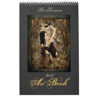 Art Book 2013 Calendar