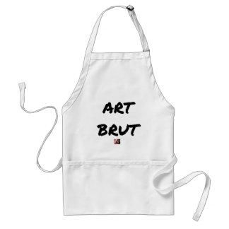 art_brut__jeux_de_mots_francois_ville adult apron