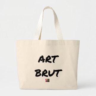 art_brut__jeux_de_mots_francois_ville large tote bag