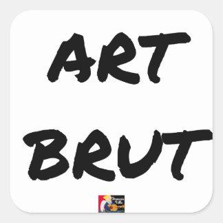 art_brut__jeux_de_mots_francois_ville square sticker