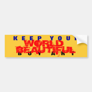 Art Bumper Sticker #2