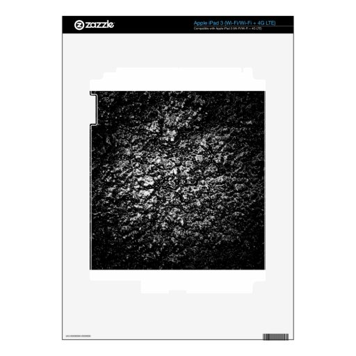 art burn smoke Abstract Antique Junk Style Fashion Skins For iPad 3
