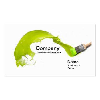 Art business card