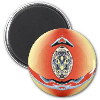 Art by Aliens - Medallion Magnets
