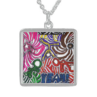 Art by Casey YEAH! Necklace