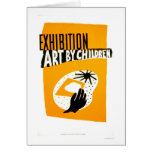 Art By Children 1940 WPA Card