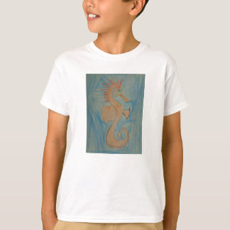 Art by Children, Hippocampus, Seahorse, Shirt
