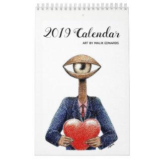 Art By Malik  - 2019 Calendar