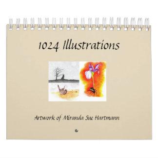 Art by Miranda Sue Hartmann Calendar