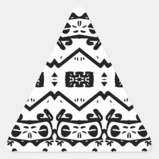 Art By Shay Sanders Triangle Sticker