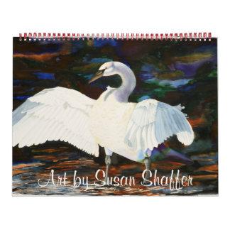 Art by Susan Shaffer Calendar