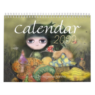Art Calendar 2009 from Biliana Savova
