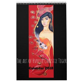 Art Calendar 2018