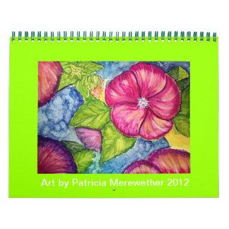 Art Calendar Patricia Merewether 2012