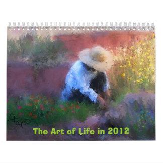 Art Calender 2012 Wall Calendar