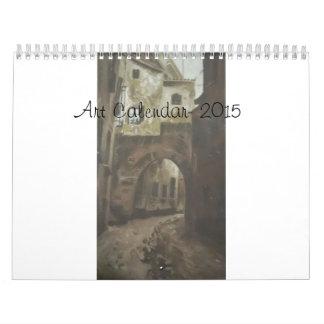 Art Calender 2015- by Terry Calendar