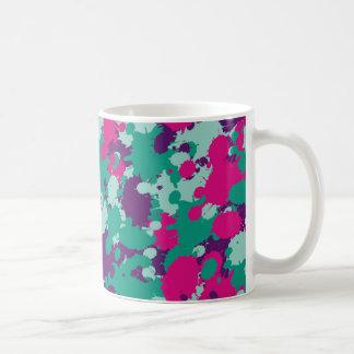 Art camouflaged coffee mug