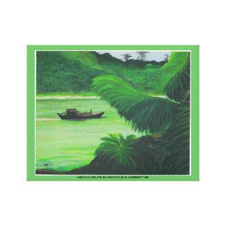 Art Canvas MEKONG DELTA 14x11