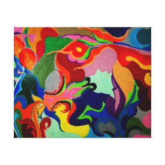 ART CANVAS- PRINT OF PAINTING-