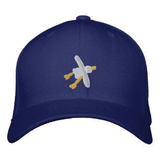 Art Cap: Seagull Design and BeachyTreats Embroidered Baseball Hat