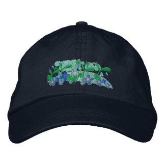 Art Cap: Tropical Moonlight - Twinkle Embroidered Baseball Cap