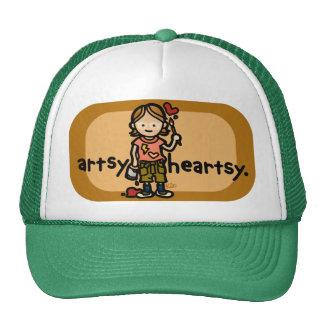 art cap. trucker hat